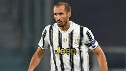 Juventus, infortunio muscolare per Chiellini