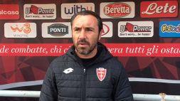 Monza imbattuto a Lecce, Brocchi gongola