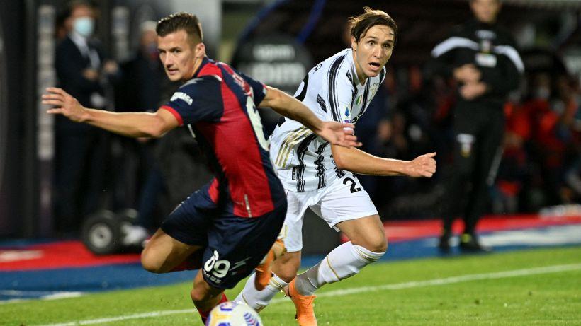 Serie A: Juventus frenata a Crotone, Chiesa espulso all'esordio