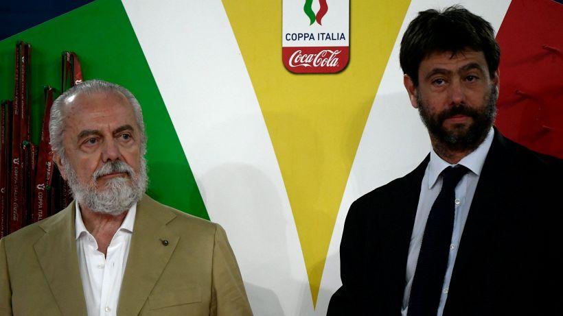 """Napoli, De Laurentiis sulla Superlega: """"Sbagliata, ma serve un'altra competizione"""""""