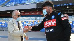 De Laurentiis va incontro a Gattuso: rinnovo più vicino