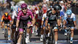 Giro d'Italia, Demare batte ancora Sagan