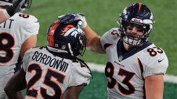 NFL, primo sorriso per i Broncos