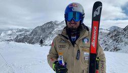 Dominik Paris sugli sci dopo l'intervento: i timori e le emozioni