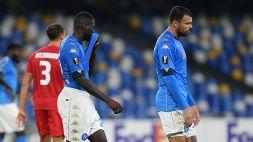 Europa League: le foto di Napoli-AZ Alkmaar 0-1