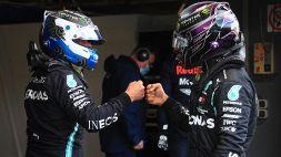 F1: Pole per Bottas, le foto