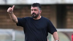 """Napoli, processo a Gattuso: """"Anche oggi ti ha salvato"""""""