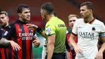 Milan-Roma: punizione pesante per Giacomelli dopo gli errori