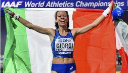 Eleonora Anna Giorgi, l'orgoglio della marcia azzurra