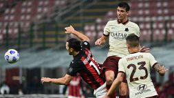 Milan, non basta Ibrahimovic: 3-3 e tanti rimpianti contro la Roma