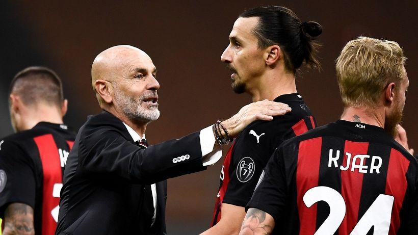 Mercato Milan, l'annuncio di Pioli su Ibrahimovic e Donnarumma