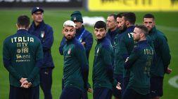 Test Italia-Moldova: Mancini vara l'ItalSassuolo