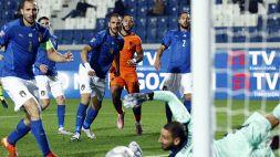 Nations League, l'Italia non vince più e perde il primato