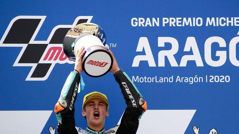 Moto3: Masia, trionfo in rimonta ad Aragon
