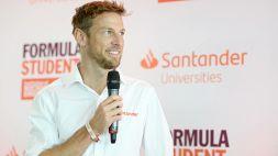 Jenson Button torna al volante