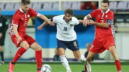 Le foto di Italia-Moldavia 6-0