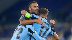 Le foto di Lazio-Dortmund 3-1