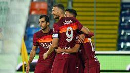 Le foto di Udinese-Roma 0-1