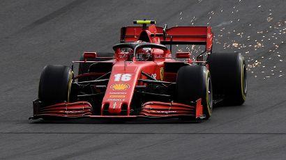 F1, Hamilton fa 92 in Portogallo. Sorridono Leclerc e Ferrari
