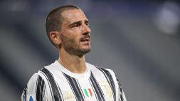 Juventus, primato negativo per Leonardo Bonucci