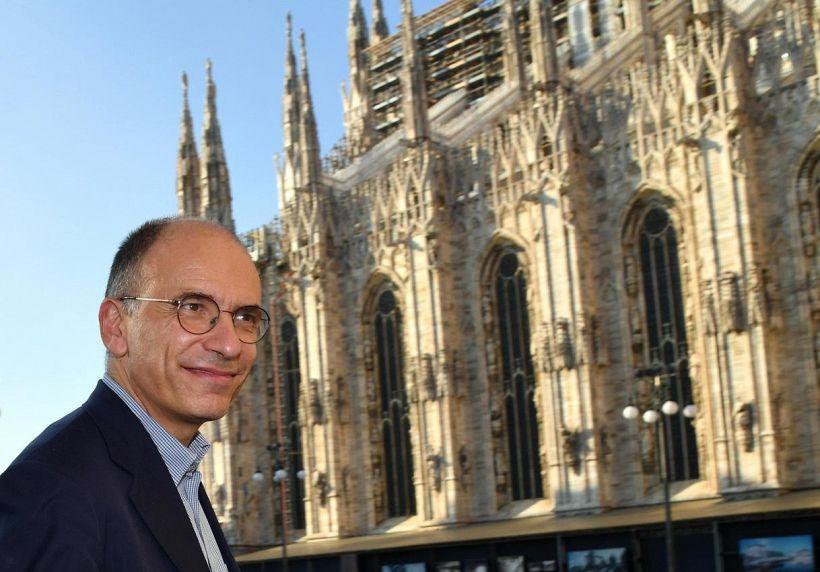 Enrico Letta milanista polemico su twitter scatena la bufera