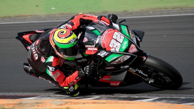 Lorenzo Savadori è campione d'Italia con Aprilia