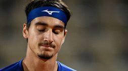 Roland Garros, Sonego non ce la fa