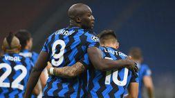 Lukaku salva l'Inter nel recupero, 2-2 con il Borussia Monchengladbach