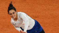 Roland Garros, eliminata Martina Trevisan