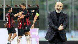 """Milan ok ma i tifosi in coro a Pioli: """"Convincilo"""""""