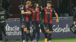 Il Bologna torna a vincere: 3-2 al Cagliari
