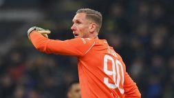 Roma, Olsen in prestito all'Everton