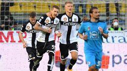 Parma-Spezia 2-2: Kucka salva i ducali nel recupero