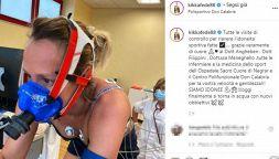 Federica Pellegrini ha sconfitto il Covid: torna in vasca