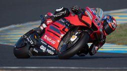 MotoGp: Petrucci trionfa a Le Mans, incubo Valentino Rossi