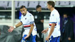 Napoli-Sampdoria, parla Fabio Quagliarella