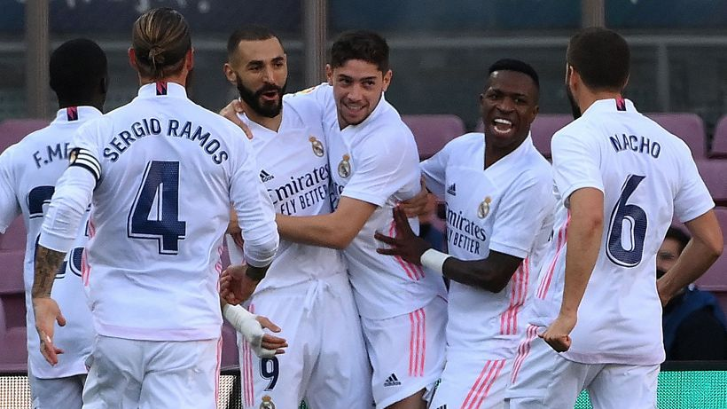 Tris al Barcellona: il Real Madrid vince il Clasico