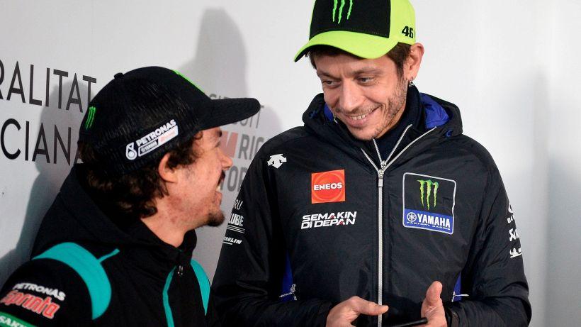"""Morbidelli a Valentino Rossi: """"Voglio batterti sempre"""""""