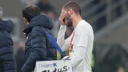 "Roma, Santon positivo al Covid-19: ""Sto bene"""