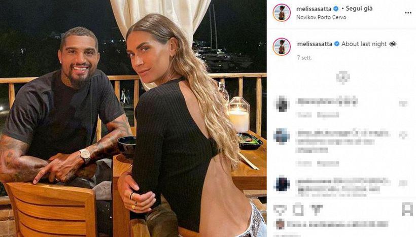 Melissa Satta e Kevin Prince Boateng: quel silenzio troppo lungo