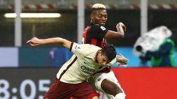 Serie A: le foto di Milan-Roma 3-3