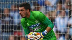 Musso out, si rivede Scuffet all'Udinese
