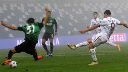 Sassuolo-Torino, spettacolo e nebbia: finisce 3-3