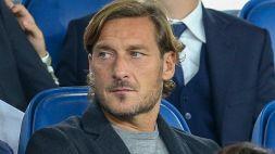 Francesco Totti: straziante messaggio al papà Enzo