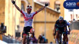 Giro d'Italia: Ulissi vince la seconda tappa
