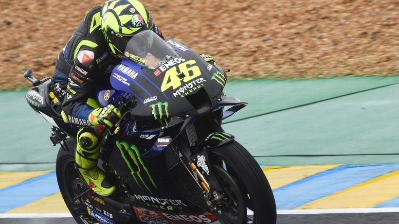 Valentino Rossi, terza caduta di fila