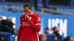 Liverpool: Van Dijk out, a gennaio un difensore