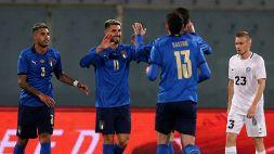Amichevole: Italia-Estonia 4-0