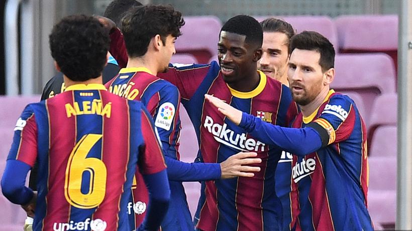 Poker del Barcellona, crolla il Real Madrid: pari Real Sociedad