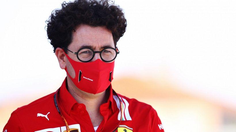 "Ferrari, Binotto: ""Ok congelamento motori"""